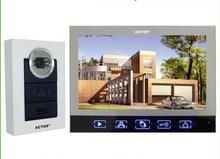 7inch display apartment photo taking video doorphone intercom door phone system kit VDP-313+CAM-210