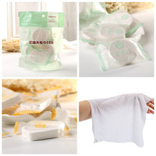 10 Pcs Magic Towels Travel Compressed Towel Cotton Non-woven Fabric Face Care For Outdoor Camping Picnic Fishing FM8(China)