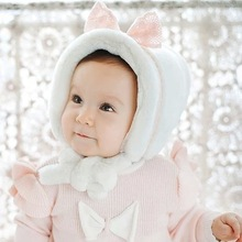 Pring Rabbit Children Cap Leopard Cat Ear BASEBALL CAP HAT Baby Boys and Girls Child Infant Rabbit Duck Tongue Hat Belt Line Cap