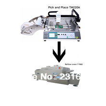 SMT Pick and place machine TM220A,Reflow Oven T-960,SMD placement machine,Production Line,the manufacturer,,0402,5050,pcb boards