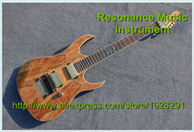 Wholesale and Retail Custom China ESP Guitars With Rotten Wood For Sale(China)