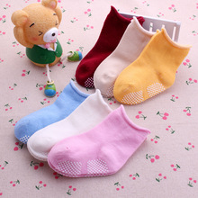 Buy 1 pair Baby Toddler Socks Newborn Infants Thickened terry warm Non-slip Floor Socks baby Girls boys 100% Cotton Socks for $2.99 in AliExpress store
