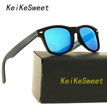 KeiKeSweet Luxury HD Polarized Men Women Rays Driving Sunglasses Hot Vintage Brand Designer Coating UV400 Top Male Sun Glasses