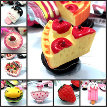 1pcs Special Resin Shoe Charms Accessories Party Home Decoretion Kids Children Gift Cake Ice Cream and Pastry Free Shipping(China)