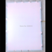 white color A4 cuttable el backlight el light panel el backlight panel without inverter and connector(China)