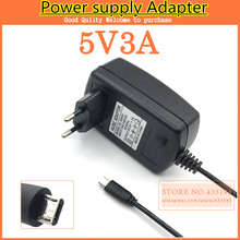 EUPlug: 5V3A 5V/3A Raspberry PI 3 Power Adapter better than 5V/2.5A 5V2.5A power supply PSU charger AC Adapter Power Source(China)