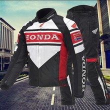 for Honda Racing Suits Motorcycle Riding Suits Men's Motorcycle Jacket Four Seasons Waterproof and Drop Free Shipping