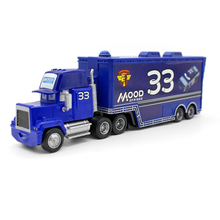 Disney Pixar Cars No.33 Mack Truck Mood 1:55 Diecast Metal Alloy And Plastic Modle Car Toys Gifts For Children(China)