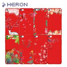 Soft Red Matt Flower Silicone Case For iPhone 5 5S SE 6 6s Plus i7 7+ i8 i8+ X iX Ultra Thin Phone Cover Bag Anti Finger Print(China)