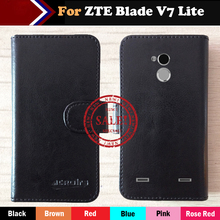 ZTE Blade V7 Lite Case Hot! Factory Price 6 Colors Dedicated Leather Exclusive Phone Cover+Tracking - ShenZhen OYO Technology Co., Ltd. store