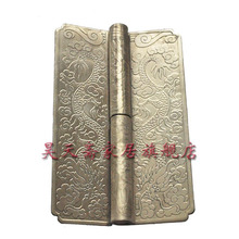 [Haotian vegetarian] antique copper hinge top cabinet white copper engraved copper thickening HTF-066