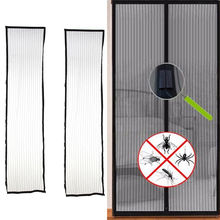 Hot Sale 1set 210*100 cm Door Mosquito Net Mesh Mosquito Net Insect Screen Flyscreen Mosquito Door Window Net Keep Insects Out