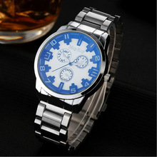 Fashion Watches Men Originality Watch Luxury simple Brand Stainless steel Watch Quartz Male Sports Casual Watches(China)