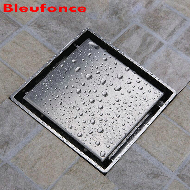 SUS304 Stainless Steel Floor Waste Drain Tile Insert Invisible Anti-odor Floor Drain Bathroom Square Shower Floor Drain nb33<br><br>Aliexpress