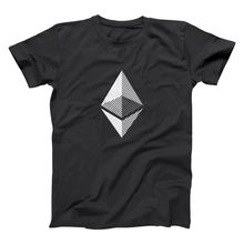 Buy Ethereum Cryptocurreny Bitcoin Mining Miner Geek T-Shirt Summer Mens Print T Shirt Short Sleeves 100% Cotton for $13.04 in AliExpress store