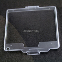 10pcs/lot  Hard Plastic Film LCD Monitor Screen Cover Protector FOR N D800 D800E D810 as BM-12 BM12 free shipping