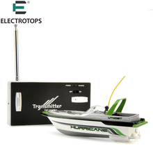 E T RC Boat Mini Boat Radio Electric Remote Control RC Super Mini Speed Boat Dual Motor for Kids Children Christmas Birthday Toy