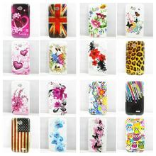 Butterfly flower US FLAG UK FLAG TPU Gel Silicone Case Cover for LG L90 Phone Cases