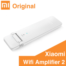 Original XiaoMi Mi WiFi Amplifier 2 Two Wireless Router Mini Wi-Fi Repeater Network Expander USB Power Extender Antenna Roteador