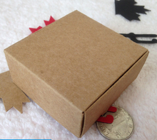 Size:74*42*40mm paper cardboard packaging box paper soap gift packing box paper craft gift box 50pcs/lot