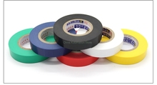 6Pcs Electrical tape insulation tape PVC electrical tape 1.5 cm wide and 18 meters long and 6 color(China)