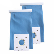 2 pieces/lot VACUUM CLEANER Long Term Dustbag Non-woven Bag For SAMSUNG SC 4130 SC 4142 Fabric BAG DJ69-00420B