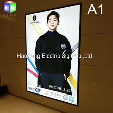 wall mounted led box picture frame advertising light box sign billboard(China)