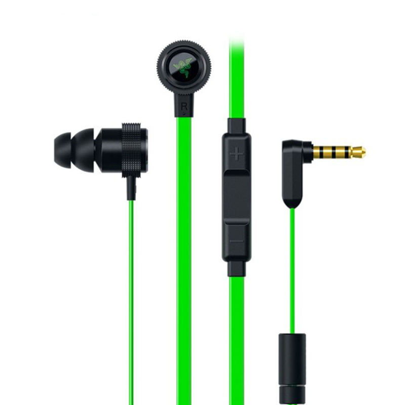In Ear Gaming Headphone Razer Hammerhead Pro V2 Earphone With Mic In-Ear Auricular Noise Isolation Stereo Deep Bass for phone PC<br><br>Aliexpress