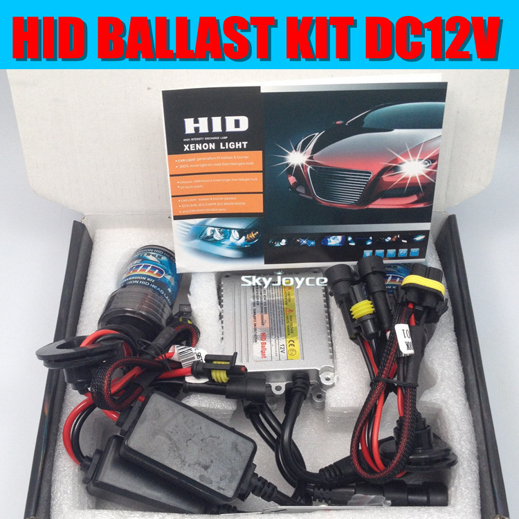 DHL shipping 10X 55W hid xenon kit H1 H3 H7 9005/6 55W HID ballast kit  DC12V HID XENON conversion kit full set HID headlight<br>