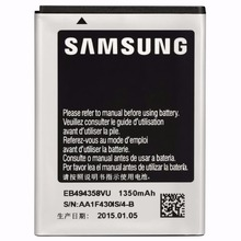 EB494358VU 100% original For Samsung Galaxy GT S5830i battery for Samsung s5830 S5660 1350 mah batteria free delivery(China)