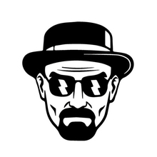 3 Styles Classic Movie Heisenberg Car Stickers Japanese Auto Exterior Accessories Decals for Car Window Tail(China)