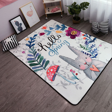 150X195CM Lovely Rabbit Carpets For Living Room Soft Rugs For Bedroom Kids Room Area Rug Coffee Table Floor Mat Children Carpet
