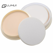 GUJHUI Fashion 3 Style Natural Color Pressed Smooth Dry Concealer Oil Control Loose Face Powder Beauty Makeup Face Care Cosmetic