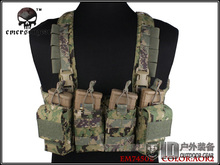 EMERSON EASY Chest Rig Airsoft Paintball Military Army Combat Vest Body Armor AOR2 EM7450B(China)