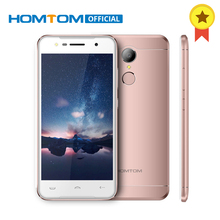 Original HOMTOM HT37 Android 6.0 MTK6580 Quad Core  5.0 Inch Smartphone Cell Phone 2GB RAM 16GB ROM  Fingerprint Mobile Phone