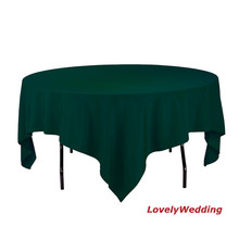 Free shipping high quality 100% polyester wedding party banquet table clothes/table cover table linens 10pcs/lot size 3x3m