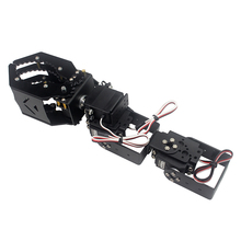 Newest DIY 4DOF Robot Arm Claw Holder With 4pcs Digital Servo for RC Toys Spare Parts DIY