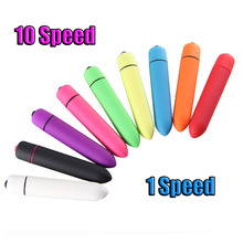 ORISSI 1Pcs Mini bullet vibrator,Colorful AAA battery G Spot Vibrator Powerful Vibrating Tranquil Vibrators For Women