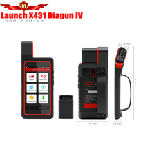 2017 Orignal Launch X431 Diagun 4 Full System Diagnotist Tool Free Update Online X431 Diagun IV Code Scanner better then Diagun3