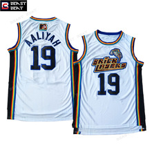 Beast Beat Aaliyah BrickLayers #19 Basketball Jersey Rock N Jock White Throwback Edition Sports Jerseys Wholesale