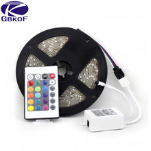 5M tape 3528 SMD Waterproof 60LEDs/M 300LEDs Warm Cool White Red Green Blue Yellow RGB different colors bendable LED Strip Light