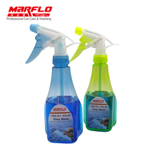MARFLO Car Paint Cleaner Magic Clay Lubricant  a Bottle with 2pcs Clay Mate Tablet work with Magic Clay Mitt Towel Pad Bar