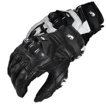 Hot sell! Furygan AFS 6 Leather Motorcycle gloves Moto GP BMX Gloves Downhill mountain bike gloves Cycling racing gloves