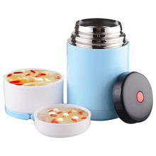 Food Vacuum Flask Thermos Container Lunch Box Kids Food Thermos Thermal Food Container(China)