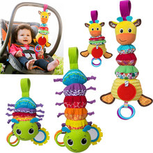 Buy JJOVCE CUTE INFANT BABY CRIB BED HANGING TOYS STROLLER RATTLES EDUCATIONAL PLUSH GIRAFFE TOYS FOR CHILDREN NEWBORN 0-12 MONTHS for $7.91 in AliExpress store