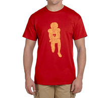 Hot Colin Kaepernick Kneeling Anthem Flag Protest 100% cotton t shirts Mens gift T-shirts for 49ers fans 0214-14(China)