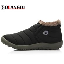 Buy Bolangdi Winter Plush Men Women Snow Boots Keep Warm Sneakers Men Boots Comfortable Running Shoes Walking Outdoor Sport Trainers for $16.56 in AliExpress store