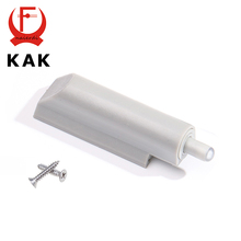 KAK 10Pcs/Lot Home Kitchen Cabinet Door Stop Drawer Soft Noise Cancel Quiet Close Closer Damper Buffers With Screws