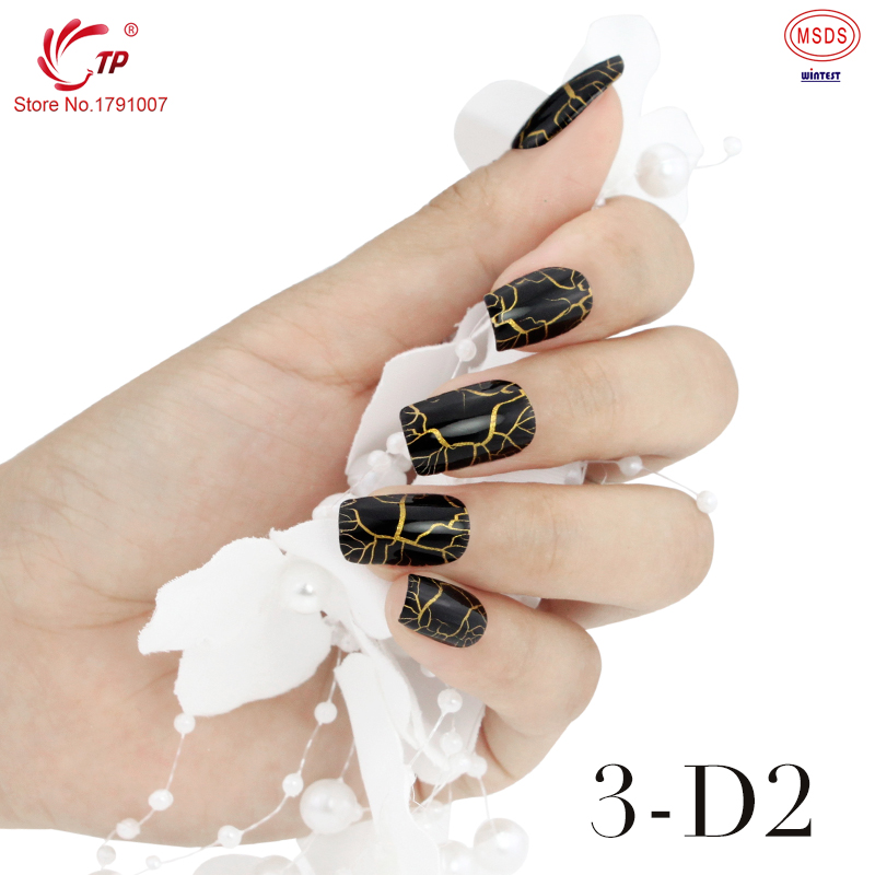 TP Brand #3 New Trendy Crackle Style Nail Art Polish Gel UV LED Light Manicure Collection Color Gel Polish(China (Mainland))