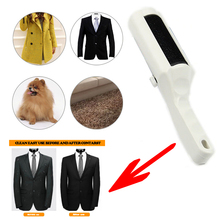 Electrostatic Static Cloth Lint Pets Hair Cleaner Remover Brush Sweeper(China)
